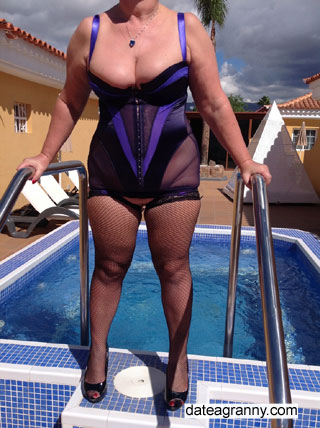 Fancy getting wet with Sally